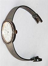 1 Damenarmbanduhr of Dugena Classic, 800 silver, model no. 914 455