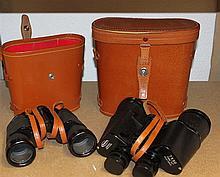 2 Binoculars, 1 x 1 x Regent and Champion