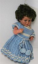 old Schildkröt doll , marked 45/47