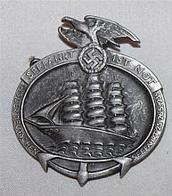 3rd Reich badge seafaring is distress,