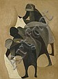 Dorothy Braund (born 1926) Greek Women Washing (Greek Glimpses Series no. 17) 1965 oil on board