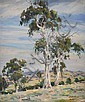 Ambrose Griffin (born 1912) Australian Landscape oil on canvas