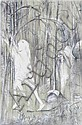 Arthur Boyd (1920-1999) Saint Francis in the Woods lithograph 23/100