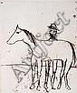 Sidney Nolan (1917-1992) Horse 1971 etching ed 60