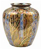 A WEDGWOOD FAIRYLAND LUSTRE VASE IN CANDELMAS PATTERNDESIGNED BY 'DAISY' MAKEIG- JONES / CIRCA 1920