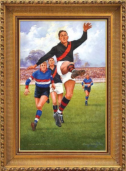 D'ARCY DOYLE (1932-2001) Dick Reynolds oil on canvas