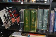 A SHELF OF ASSORTED BOOKS, INCL. 'SONGS OF THE PEN'