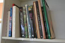 A SHELF OF INTERNATIONAL ART REFERENCE BOOKS INCLUDING BYZANTINE ART