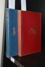 TWO BOOKS BY A. A. MILNE, 'WHEN WE WERE VERY YOUNG' 2ND EDITION 1924 AND 'NOW WE ARE SIX' 1ST EDITION, 1927