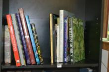 A SHELF OF TIFFANY AND MORRIS RELATED BOOKS