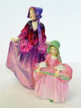 TWO ROYAL DOULTON FIGURES 'SWEET ANNE' AND 'BO PEEP'
