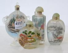 A COLLECTION OF SNUFF BOTTLES