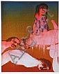 SIDNEY NOLAN (1917-1992) The Inferno screenprint 67/70