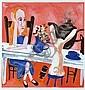 CHARLES BLACKMAN (BORN 1928) The Pink Alice screenprint 75/75