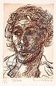 DONALD FRIEND (1915-1989) Blake etching 50/50