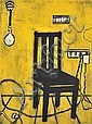 KATHERINE HATTAM (BORN 1950) Yellow Chair lithograph 25/25