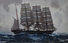 JOHN C. GOODCHILD, LOCH TORRIDON, WATERCOLOUR, 22 X 34CM