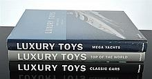 THREE BOOKS ON LUXURY BOATS AND CARS