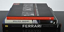 THREE BOOKS ON MOTOR CARS AND AVIATION