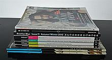 A COLLECTION OF DESIGN AND FASHION MAGAZINES