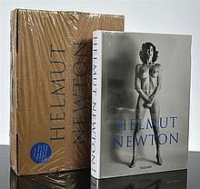 A HELMUT NEWTON SUMO BOOK WITH PERSPEX STAND (RRP $350)