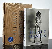 A HELMUT NEWTON SUMO BOOK WITH PERSPEX STAND. (RRP $350)