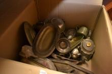 A QUANTITY OF PEWTER WARE