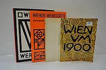 FOUR BOOKS CONCERNING THE VIENNA WERKSTATTE