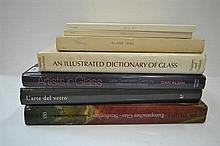 SEVEN BOOKS CONCERNING ART GLASS