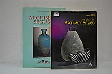 TWO BOOKS REFERRING TO THE ART GLASS OF ARCHIMEDE SEGUSO