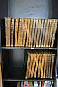ENCYCLOPEDIA BRITTANICA, LEATHER BOUND IN 28 VOLS