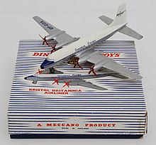 FRENCH DINKY 998 BRISTOL BRITANNIA AIRLINER CANADIAN PACIFIC