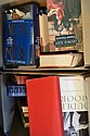 TWO BOXES OF ASSORTED BOOKS INCL NOVELS, BIOGRAPHIES ETC