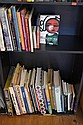 ONE AND A HALF SHELVES OF ASSORTED ART REFERENCE INCL MIRKA MORA, MONET ETC
