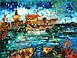 JOHN PERCEVAL (1923-2000) Ships at Williamstown 2001 screenprint 16/99