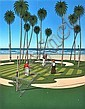 JAMES WILLEBRANT (BORN 1950) Pacific Putt 1984 screenprint 44/100
