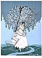 ERTE (RUSSIAN, 1892-1990) Blossom Umbrella 1979 screenprint 179/300