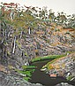 DAVID ROSE (1936-2006) At Iron Pot Creek near Jindabyne 1993 screenprint 44/80