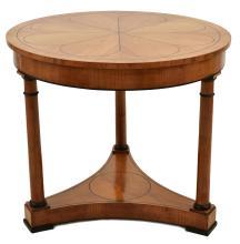 A BIEDERMEIER CENTRE TABLE