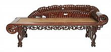 A SOUTHERN CHINESE ROSEWOOD DAYBED, LATE QING PERIOD