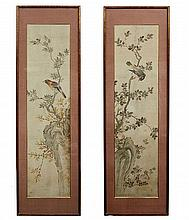 A PAIR OF ORIENTAL PAINTINGS