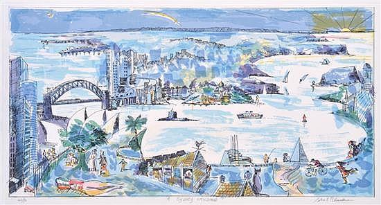 CHARLES BLACKMAN (BORN 1928) A Sydney Childhood screenprint 40/90