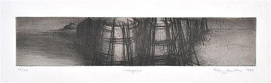 RUTH JOHNSTONE (BORN 1955) Metropolis 1989 etching 20/25