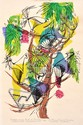 BARBARA BRASH (1925-1998) Twelve-wired Bird of Paradise (Selecidis Melanoleucus) Six-Plumed Bird of Paradise (Parotia Sefilata) 1965...