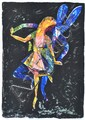 CHARLES BLACKMAN (BORN 1928) Dancing Alice screenprint 12/80