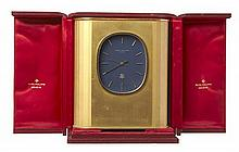 A RARE PATEK PHILIPPE ELIPSE D'OR SOLAR CLOCK, BOXED