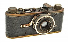 LEICA COMPUR B WITH RIM SET SHUTTER AND ER CASE, CONDITION: 6