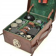 LEICA II OUTFIT NO. 838374 (1932) WITH SUMMAR 2.0 50MM LENS NO. 350846, ELMAR 3.5 35MM LENS, ELMAR 4.0 90MM LENS, HEKTOR 6.3 28MM LE...
