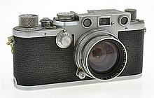LEICA IIIF NO. 608760 (1951) WITH SUMMITAR 2.0 NO. 938493 LENS (1951), CONDITION: 5