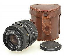ELMARIT R 2.8 35MM IN LEATHER CASE, CONDITION: 5